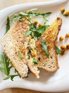 Kichererbsen-Sandwich