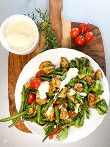 Read more about the article Knusper-Kartoffelsalat mit Prinzessbohnen
